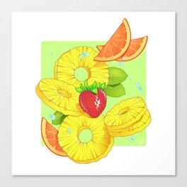 Sliced Canvas Print
