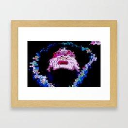 Psychedelic Hood Framed Art Print