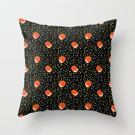 Sprinkles Galore Birthday Party Throw Pillow