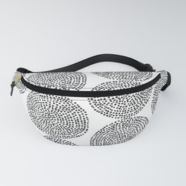 Beech in Black and White Fanny Pack