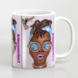 The Girl in the Rose Tinted Glasses Coffee Mug