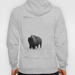 A Bison - Monochrome Hoody