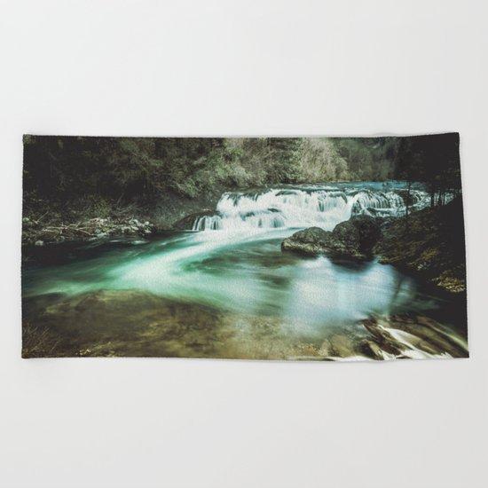 Dougan Falls Beach Towel