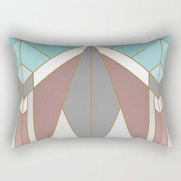 ART DECO G2 (abstract geometric) Rectangular Pillow