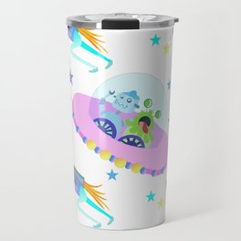 Outerspace Traffic Jam Travel Mug