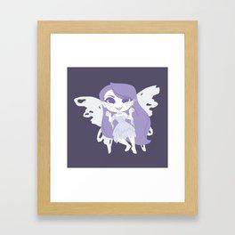 Haunting Fairy Framed Art Print