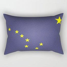 State Flag of Alaska Rectangular Pillow