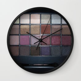 Makeup Set Wall Clock