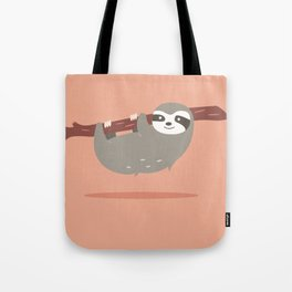 Sloth card - hello beautiful Tote Bag