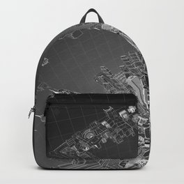 Future City Dark Backpack