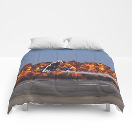 Flight and Flame Comforters