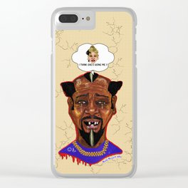The Weakest Man On Earth Clear iPhone Case