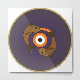 piscis eye Metal Print