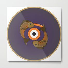piscis eye Metal Print