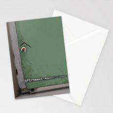 Door monster Stationery Cards