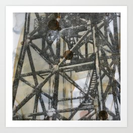 Tower on mylar  Art Print