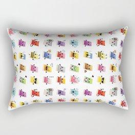 Bookiemoji Party Rectangular Pillow