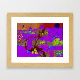 Go Chase Waterfalls Framed Art Print