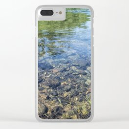 Within and Without Clear iPhone Case