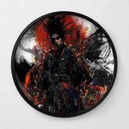 Samurai Musashi Wall Clock