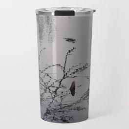 Meditate Near Water Travel Mug