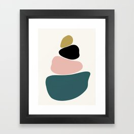gemstones 1 Framed Art Print