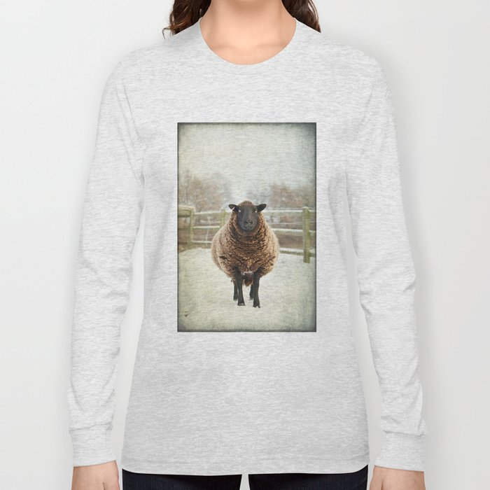 Zombie sheep Long Sleeve T-shirt