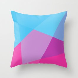 Colour Bomb Throw Pillow