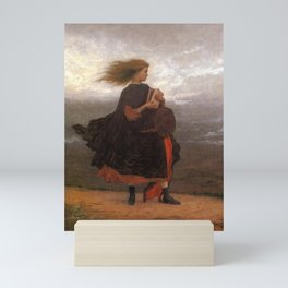 The Girl I Left Behind Me By Eastman Johnson | Reproduction Mini Art Print