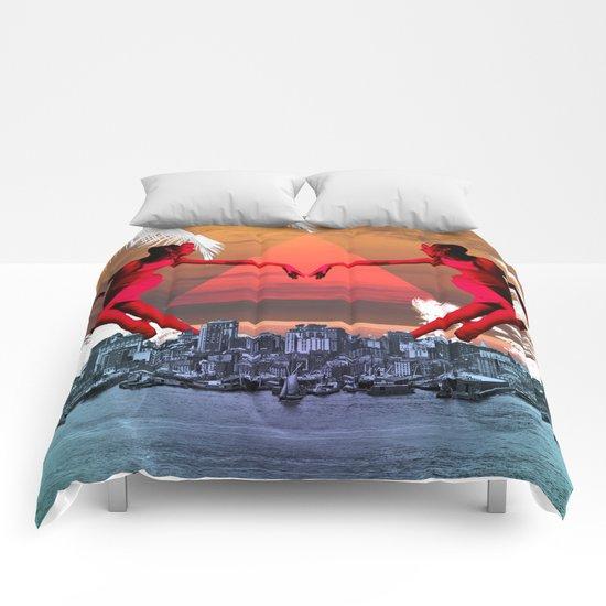 joi de vivre Comforters