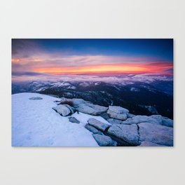 Lenticular Sunset Canvas Print