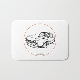 Crazy Car Art 0026 Bath Mat