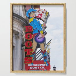 Broadway Boots - Nashville Serving Tray