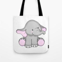 Pretty Pachyderm Tote Bag