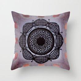Lace magic Throw Pillow