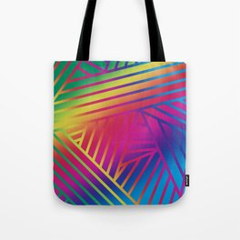 Rainbow Ombre Pattern A Tote Bag