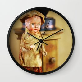 Coffee man 4 Wall Clock