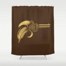 Banana Gun Shower Curtain