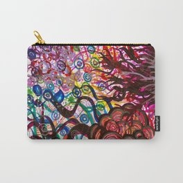 Underwater Rainbow Plants Carry-All Pouch