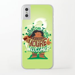Hero to all Clear iPhone Case