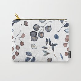 Watercolor leaves treasury Carry-All Pouch