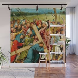 "Hieronymus Bosch ""Christ Carrying the Cross"" (Vienna) Wall Mural"
