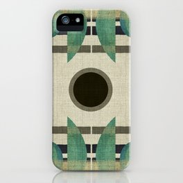 """""""Abstract Ships at the Sea"""" iPhone Case"""