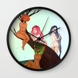The Seasonal Tree Wall Clock