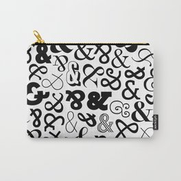 Ampersands on Ampersands Carry-All Pouch