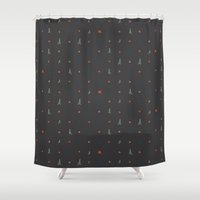 camping Shower Curtains featuring Camping... by NDTank