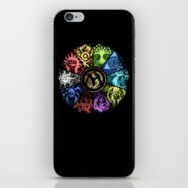 Magic the Gathering - Faded Guild Wheel iPhone Skin