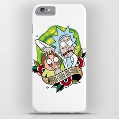 Traditional Rick and Morty  Slim Case iPhone 6s Plus