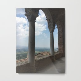 Greek Countryside Metal Print