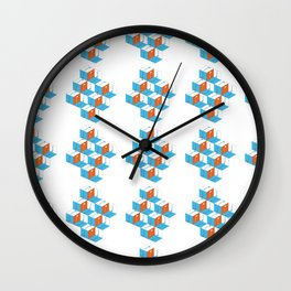 Musical repeating pattern No.3, Collection No.1 Wall Clock